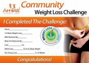 arriba weight loss